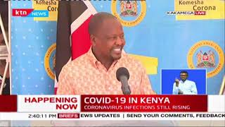 CS Kagwe: 781 patients have recovered from COVID-19 while home-based care and Health facilities