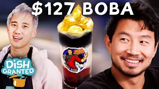 I Made A $127 Boba For Simu Liu From Marvel's ShangChi • Dish Granted