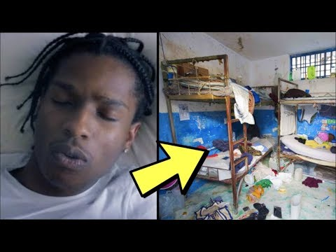 Asap Rocky Reportedly Living in INHUMANE Conditions in New Swedish Story