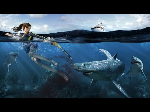 Tomb Raider Underworld VR Test  (Vorpx and Nvidia shadowplay)  001 | EvilEliot