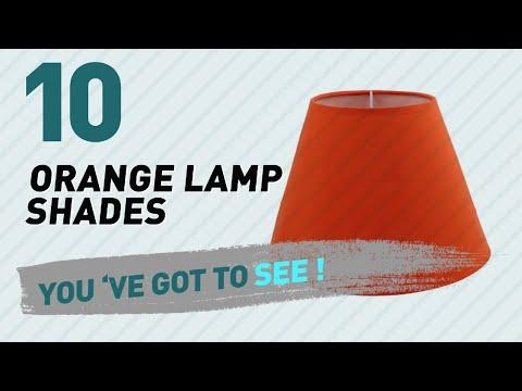 Orange Lamp Shades // New & Popular 2017
