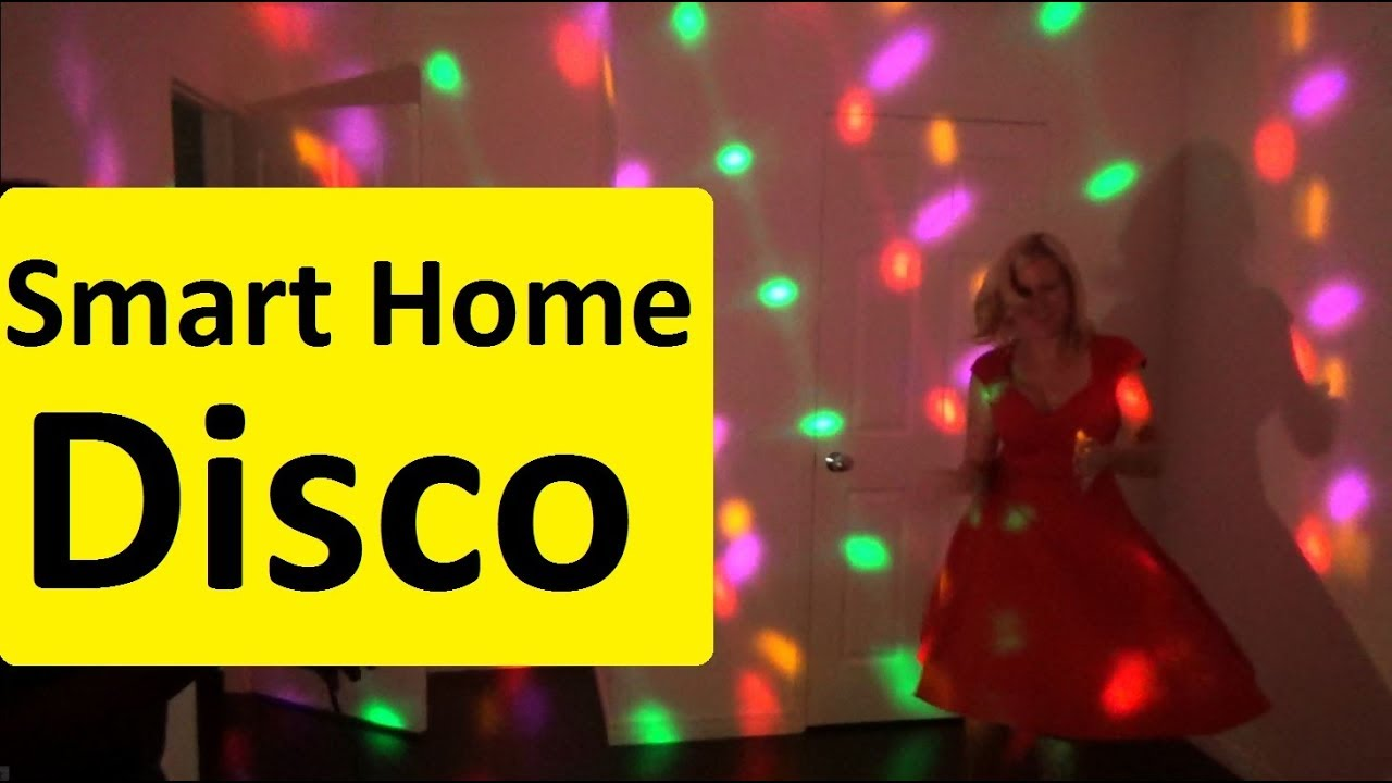Dj Lights Or Disco Party Youtube Three One Light Switch Electrical Diy Chatroom Home Smartlights Discolight Partylights