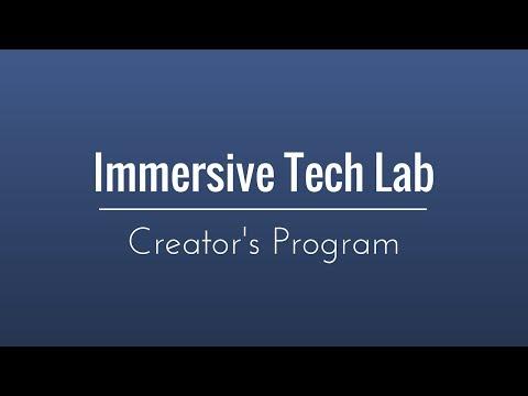 Immersive Technology Lab - Creator