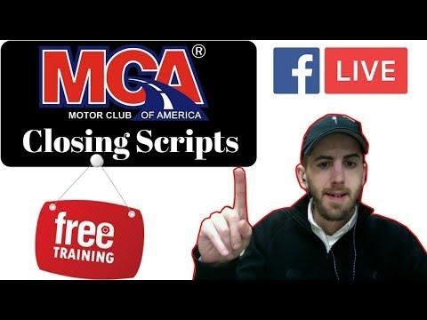 MCA facebook Closing Scripts 2018  MUST WATCH