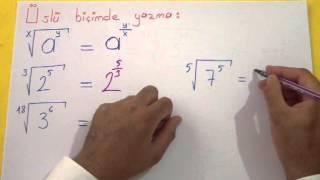 Köklü Sayılar 4 Şenol Hoca Matematik