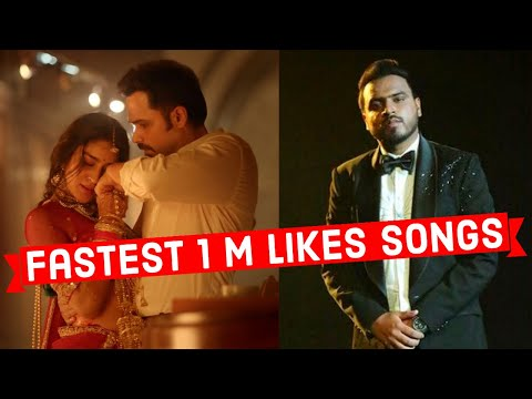 Fastest 1 Million Likes Indian Song (Top 25)