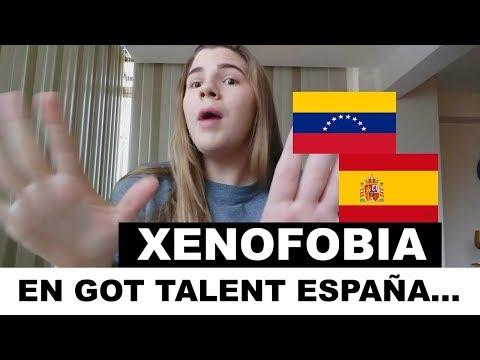 XENOFOBIA HACIA UN VENEZOLANO EN GOT TALENT ESPAÑA