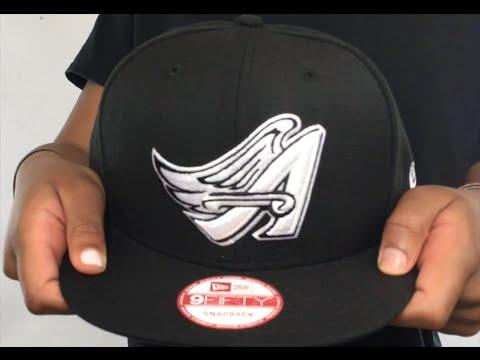 Angels COOP  TEAM-BASIC SNAPBACK  Black-White Hat by New Era - YouTube 70d9ae40069