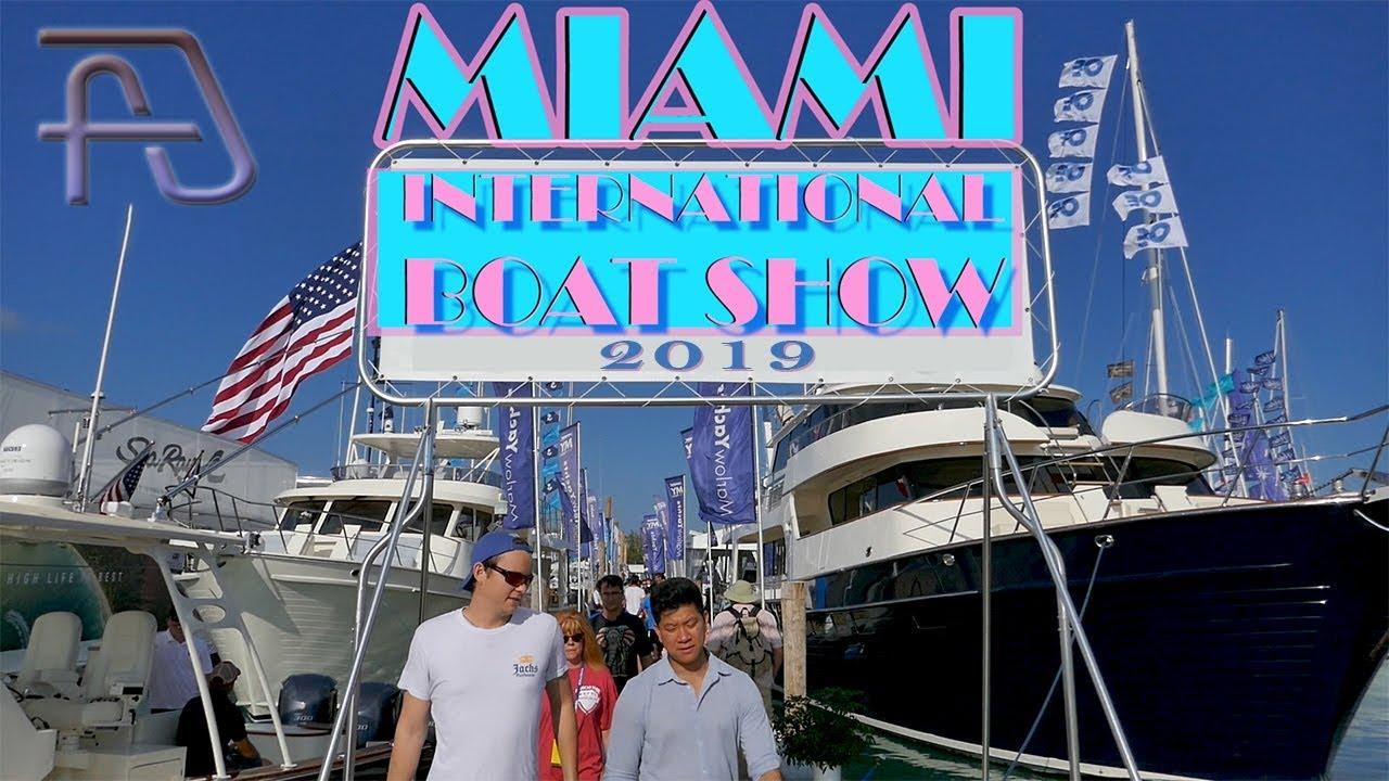 Miami International Boat Show 2019