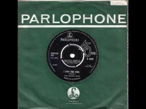 David Bowie (The Manish Boys) - I Pity the Fool (original)
