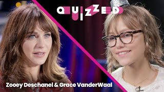 Grace VanderWaal Gets QUIZZED by Zooey Deschanel on 'New Girl' | Quizzed
