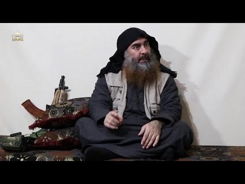 So-called IS leader Al-Baghdadi appears in alleged new video for first time in 5 years