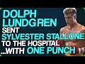 Dolph Lundgren Sent Sylvester Stallone to the Hospital... With One Punch
