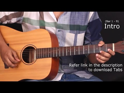 Mere Rashke Qamar - Guitar Tabs (Lead) || Lesson / Tutorial + Cover