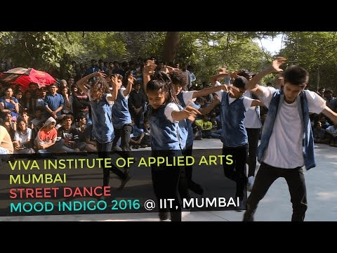 Energetic Street Dance Routine By Viva College Students At Mood Indigo Youtube