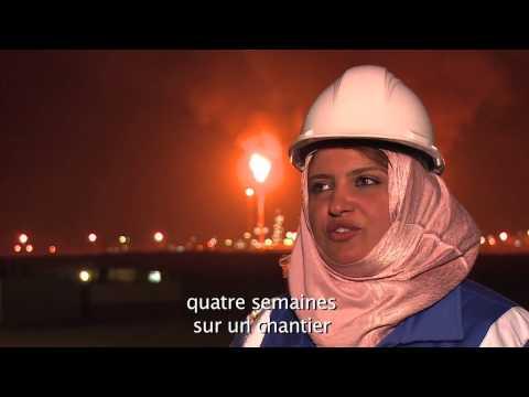50 ans 50 femmes, Safia Bouragaa, chef de chantier à Hassi Messaoud, portrait N°32