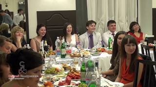 Застольный конкурс на свадьбе, юбилей, выпускной, корпоратив «Поздравление». Видео №16 из 23.