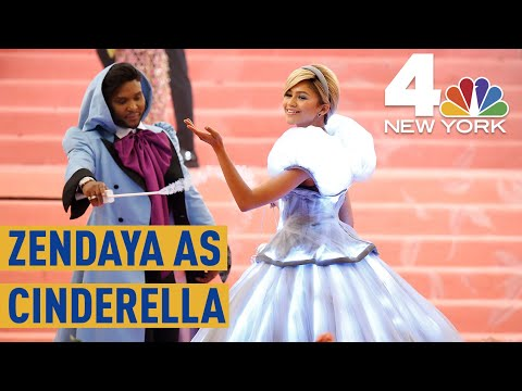 Met Gala 2019: Zendaya&39;s Electric Cinderella Look  Complete with a Glass Slipper  NBC New York