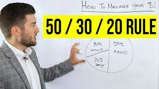 [6.60 MB] How To Manage Your Money (50/30/20 Rule)