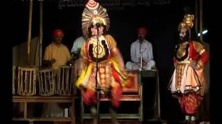Yakshagana-Rajesh bhandari& Shivananda kota 5 chande at a time  | hilluru