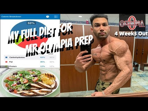Road To Olympia Ep.1 | Contest Prep Diet | My Current Macros and Diet