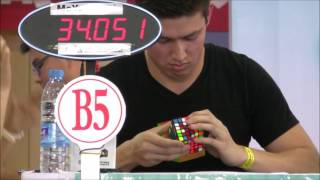 6x6 Rubik's Cube World Record - 1:32.77