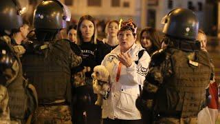 Протесты после инаугурации Лукашенко   ГЛАВНОЕ   23.09.20