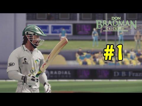 Don Bradman Cricket - Sam Lewis Career #1