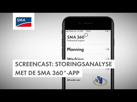 Screencast: storingsanalyse met de SMA 360°-app