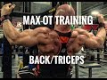 Max OT Training Routine- Back and Triceps