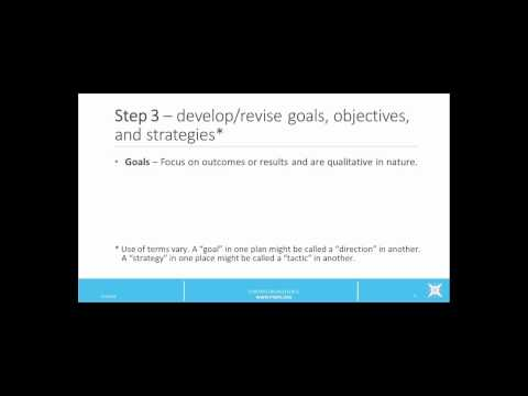 Strategic Planning in Public Health Overview