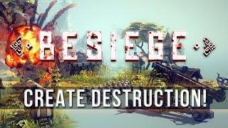 Играем в Besiege !!! ч1