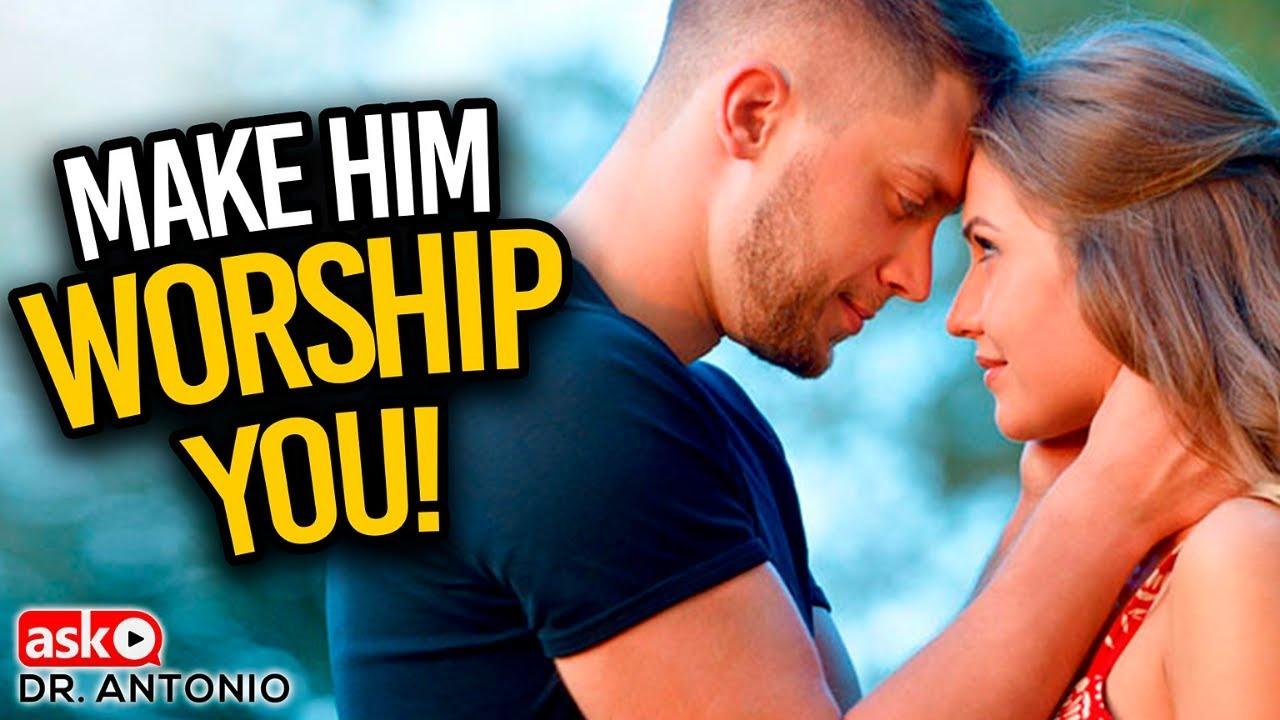 Make Him Worship You - 5 Powerful Steps that Work! - YouTube