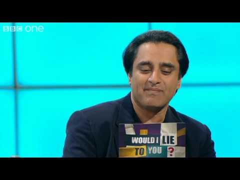 Sanjeev Bhaskar crashed into  Michael Winner's car ? - Would I Lie To You? - BBC One