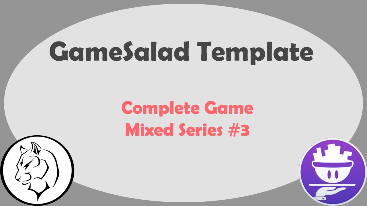 Free Download GameSalad Templates 2D Graphics GUI & Animations
