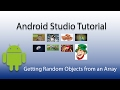 Android Studio:  Getting Random Objects