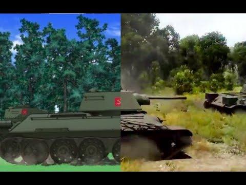war thunder girls and panzer