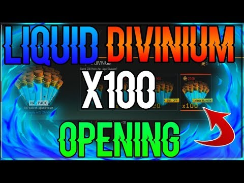 OPENING UP 100 VIALS OF LIQUID DIVINIUM (HUNTING FOR PERKAHOLICS!) (INTERACTIVE STREAMER!)