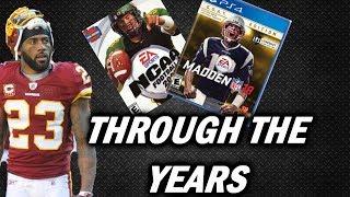 DeAngelo Hall Through the years - NCAA Football 2003 - Madden 18