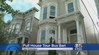 Tour Buses Banned From Street Where San Francisco