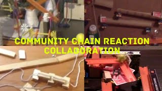 CRAZY Chain Reaction Collaboration w/berlagawesome & 9 Other Builders