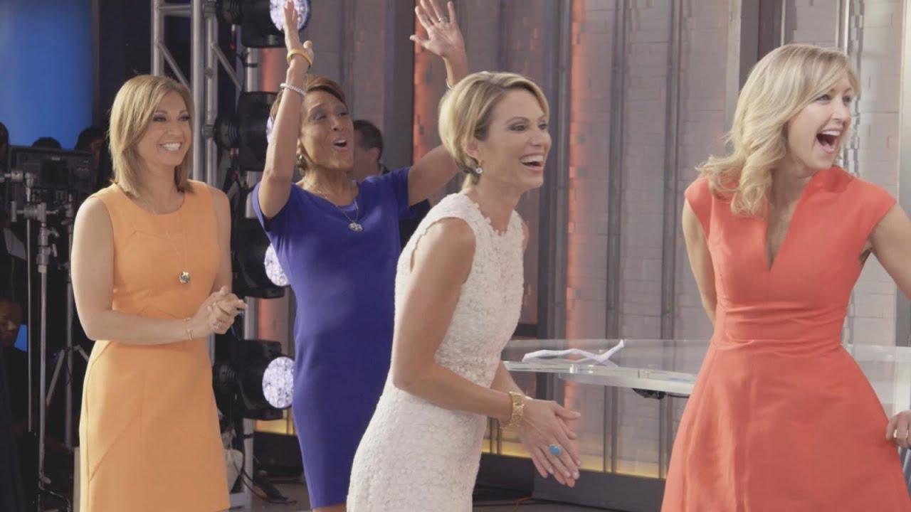 Good Morning America Jenna Marbles : Gma weekend blond says thank you good morning america