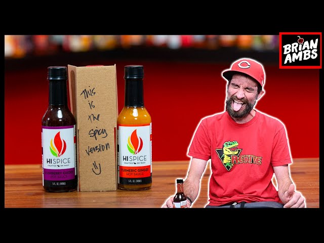 THESE HOT SAUCES ARE INSANE!