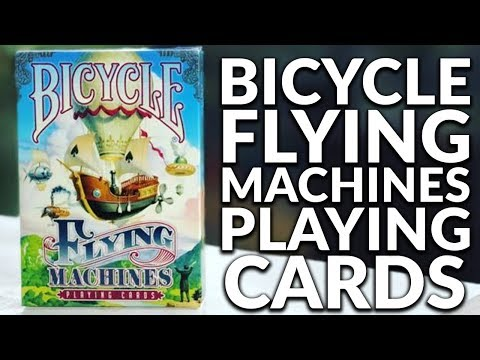 Deck Review - Bicycle Flying Machines Playing Cards [HD-4K]