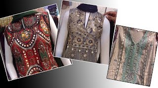 New Style Hand Embroidery Dresses Chiffon Dresses Printed Kurties  In Jama Mall Branded Dresses