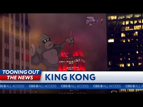 King Kong makes a nonessential visit to the Empire State Building.