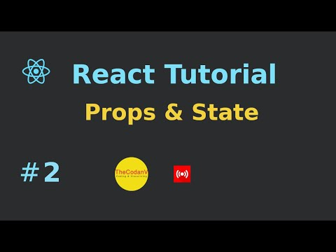 Props & State - React Part 2 Live Hindi Video Session thumbnail