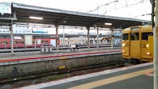 JR 新山口駅 電車 クハ115-2007 20170526_191048