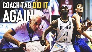 WOW! Mga Bata ng Gilas, Tinalo ang mga PROS ng South Korea! Coach Tab Deserves to be Praised!