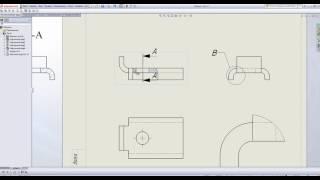 Работа в SolidWorks. Выполнение чертежей.